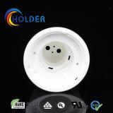 GU10 Lámpara de techo de plástico metalizado