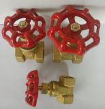 Soupape de coupure de laiton Dn15 Pn16 en matériau Dn15-25mm de qualité
