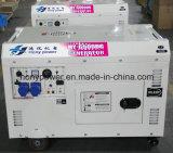 남아프리카를 위한 7kVA 공기에 의하여 냉각되는 침묵하는 디젤 엔진 발전기