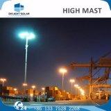 30mの屋外の競技場の街灯柱のコオロギの照明タワーの高いマスト