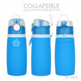 550 мл мягких многоразовых Silcione спорта поездки складные небольшая бутылка воды