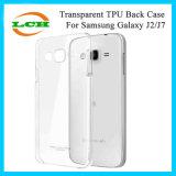 Uiterst dun Duidelijk Transparant Zacht Geval TPU voor Samsung J7