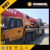 Sany 75ton 이동할 수 있는 트럭에 의하여 거치되는 기중기 Stc750