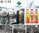 Máquina de rellenar caliente automática llena del zumo de fruta