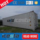 Bloco Icesta fábrica de gelo para a refrigeração do Estaleiro