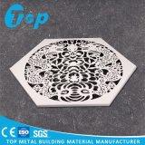 Panneau gravé en relief par découpage antique de feuillard de laser de modèle