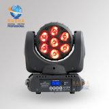 Prix raisonnable pour le 7*10W 4en1 LED RGBW Déplacement de feu de route de la tête avec déplacement de l'étape de l'éclairage pour DJ Club DMX512 Partie