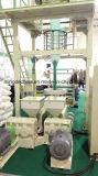 Velocidad superior ABA 3 mini precio de la máquina de la película plástica de polietileno de la agricultura del estirador de la película del PE del LDPE del HDPE del estiramiento de 2 capas que sopla