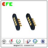 Connecteur magnétique mâle et femelle 4pin pour téléphone mobile