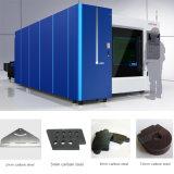 machine de découpage de laser de fibre de plaque d'acier du carbone 1500With2000W à vendre