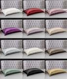 funda de almohada pura de la seda de mora de Momme el 100% de la anchura 19 de los 280cm con Oeko