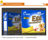 Incubadora automática ligera del pollo de Hhd LED mini para 56 huevos