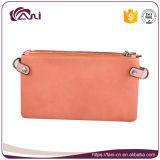 Fani Magic Wallet para meninas, 3 Zipper Wallet PU Leather