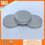 Tapón de tuerca de aluminio de plata mate del tarro del caramelo de la miel