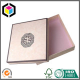 Изготовленный на заказ коробка упаковки бумаги подарка картона бумаги текстуры цвета