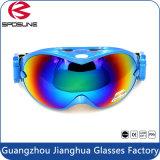 2017 de Hoogste Beste Beschermende brillen van de Verkoop voor het Skien de Glanzende Dubbele Beschermende brillen van de Ski van de Sporten van de Lens