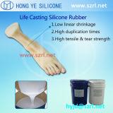 Het medische Rubber van het Silicone van de Rang Vloeibare om Hand Prothetisch te maken