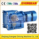 K Helical Bevel Electric Motor Gearbox