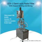 Semi-auto het Vullen van het Deeg Machine met Vultrechter die en zich voor Shampoo (gza-2) verwarmen mengen