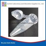 1.5 ml Conical Bottom Centrifuge Tubes Met Afstuderen En Snap Cap Voor Medische Apparatuur