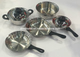 Ustensiles de cuisine Tri Ply All Cald Stainless Steel Cookware Set