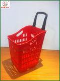 Panier d'achat en plastique flexible avec matériel PP