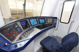 Double-Deck harter Auto-Passagier-Trainer-Hinterauto-Wagen-Bahnserie der Lagerungs-35k
