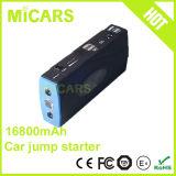 Dispositivo d'avviamento multifunzionale del ponticello della batteria di litio dell'automobile della Banca di potere 16800mAh