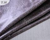인쇄와 특별한 패턴을%s 가진 인공적인 가짜 스웨드 직물