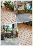 セリウムの証明書が付いている設計された木WPC連結の庭の床