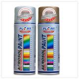 Barnizado de madera Aerosol incombustible metálico pintura de aerosol