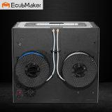 Ecubmaker ABS und Winkel- des Leistungshebelskompatibler Doppeldrucker des extruder-3D,