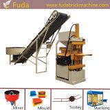 Hydraulischer automatischer Lehm-blockierenblock-Maschine in Kenia