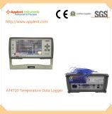 10部分のTcの熱電対データ自動記録器(AT4710)