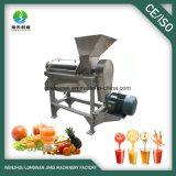 Extrator espiral do suco da indústria para a fruta e verdura