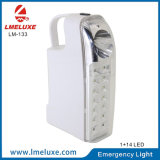 14 LED SMD PCS de la luz de emergencia recargable con Spotlight