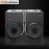 Ecubmaker Black Metal Housing Impressora Dual Extrusion 3D