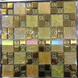 Jbn Silver Color Tile Glass Mosaic pour TV Wall, Border Decoration (M655002)
