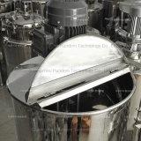 Tanque de emulsão do misturador do aço inoxidável para o creme e a loção