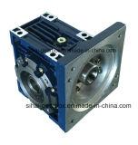 Quadratisches Flansch-Endlosschrauben-Getriebe des Input-Nmrv075 mit Extensions-Ausgabe-Welle