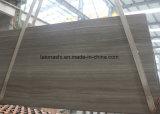Lastre di marmo di legno grigio-chiaro per il pavimento e la parete