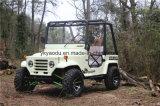 2 de la puerta lateral mini jeep con Ce para animales de granja