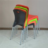 (SP-UC476) Parte externa por atacado que empilha a cadeira plástica da corte do fast food