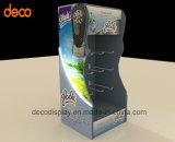 Estante de visualización de papel de suelo del soporte de visualización de la cartulina para la venta al por menor