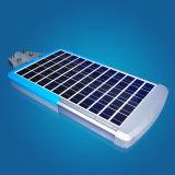 1つのシステムの屋外の動きセンサーLEDの太陽街灯すべて