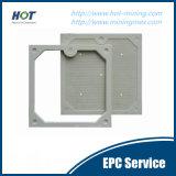 Placa de imprensa hidráulica automática do filtro da câmara dos PP