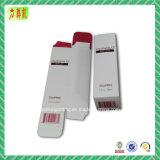 Weiche Noten-Kunstdruckpapier-verpackenkasten mit heißem stempelndem Firmenzeichen