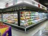 Supermarché Multideck réfrigérés en position verticale du chiller