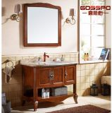 세면기 (GSP9-012)를 가진 고전적인 목제 목욕탕 허영