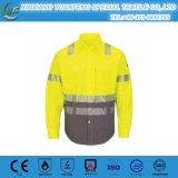 Protectoveの安全摩耗の炎-抑制剤Fr作業ワイシャツ